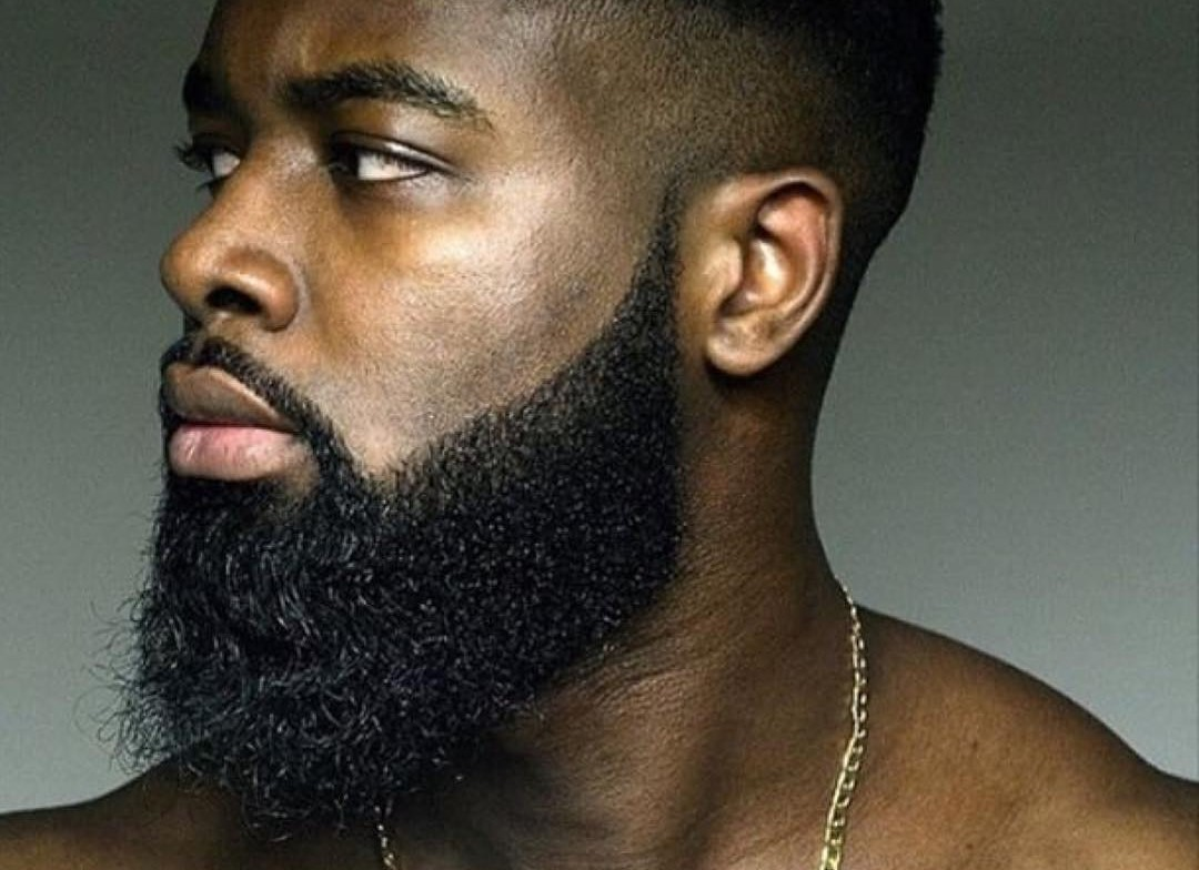 black men beard styles - full beard