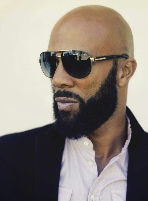 Black Men Beard Styles - Bald Head Bushy Beard