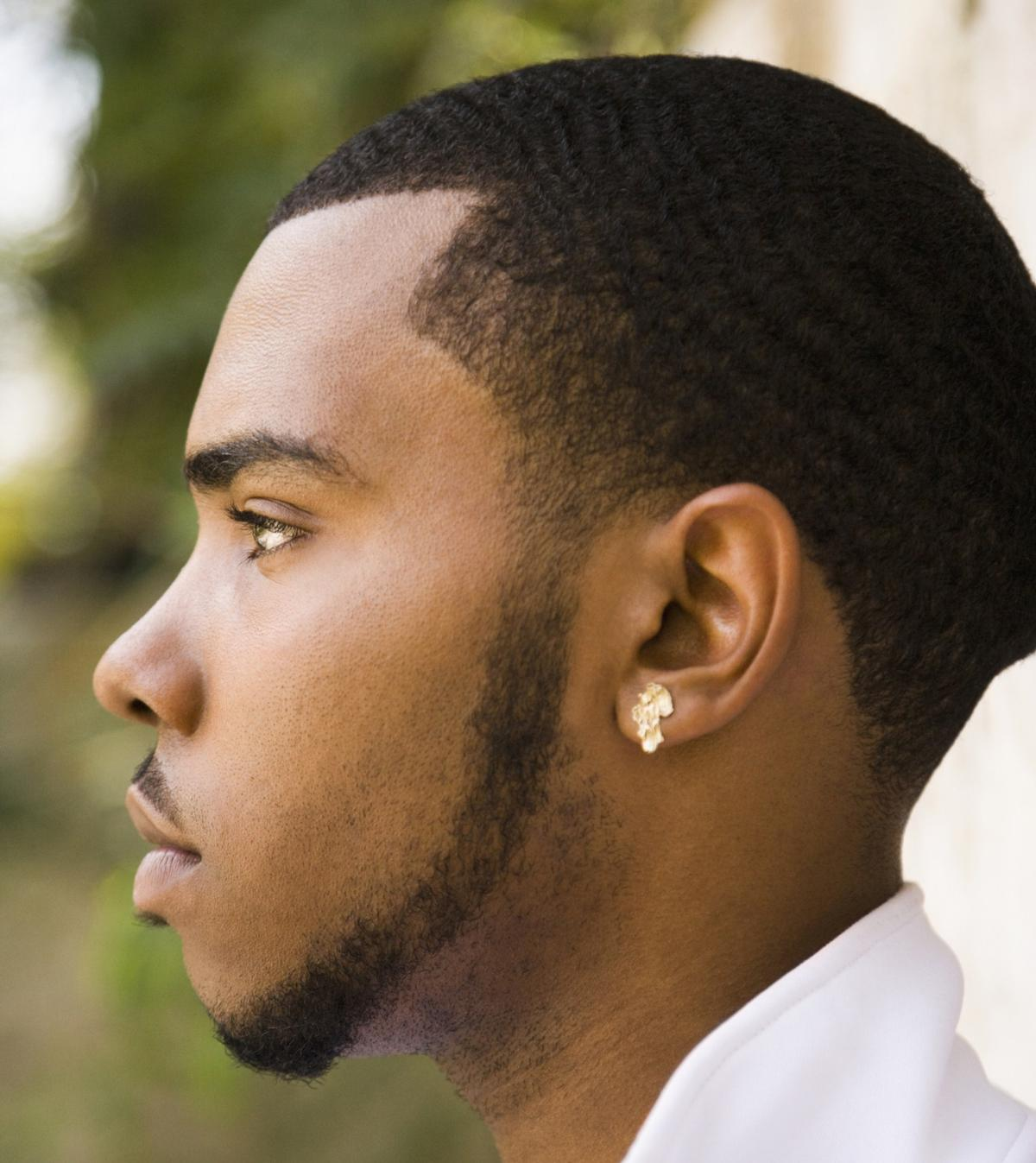 Black Men Beard Styles - Chin Strap