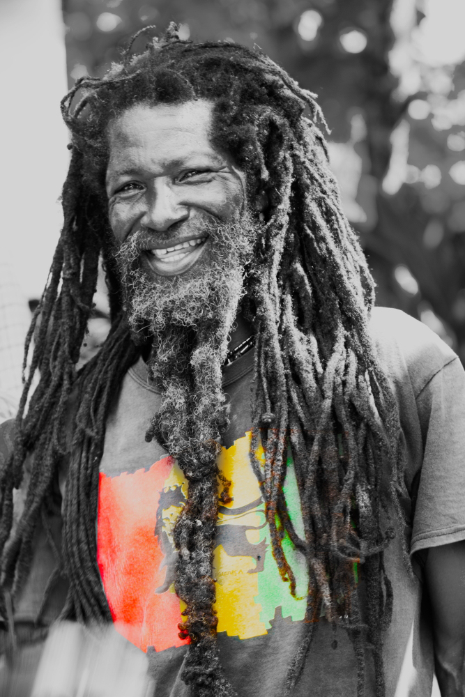 Black Men Beard Styles - Rasta Beard