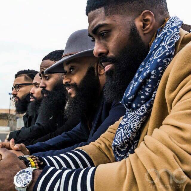 Black Men Beard Styles - Spruce Beard