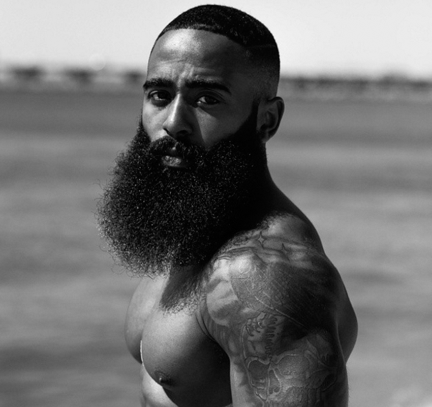 Black Men Beard Styles - The Lumberjack