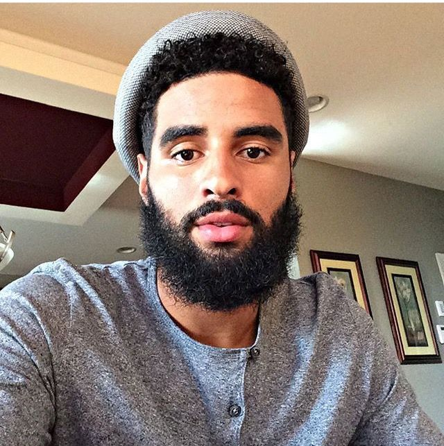 Black Men Beard Styles - The Rounded Beard