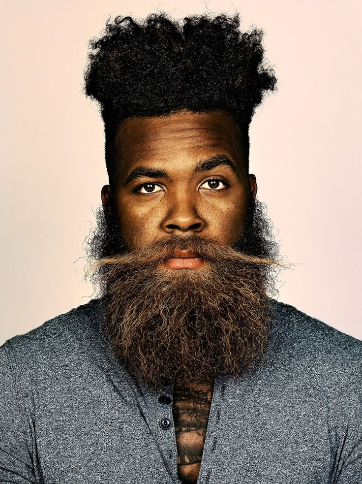 Black Men Beard Styles - The Sailor