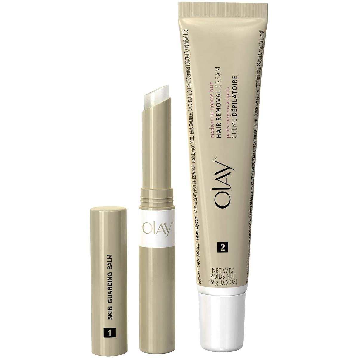 Best for Facial Hair: Olay Smooth Finish Facial Hair Removal Duo Kit