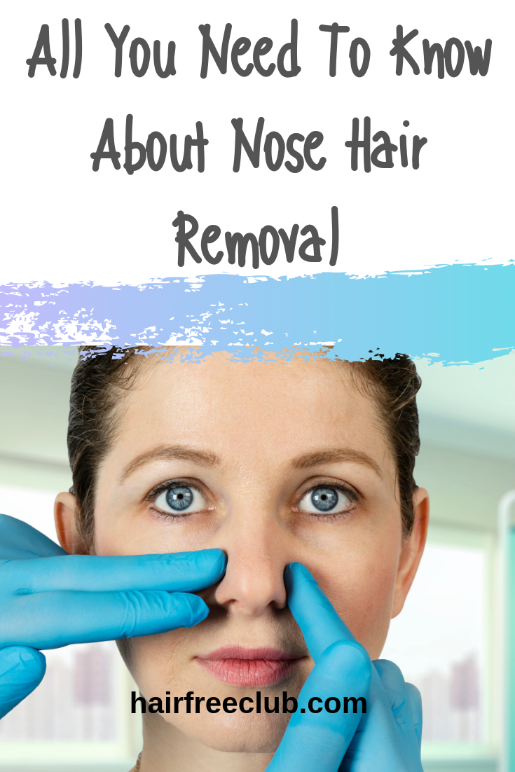 nose hair removal
