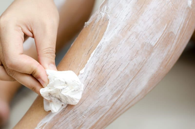 Homemade hair removal creams